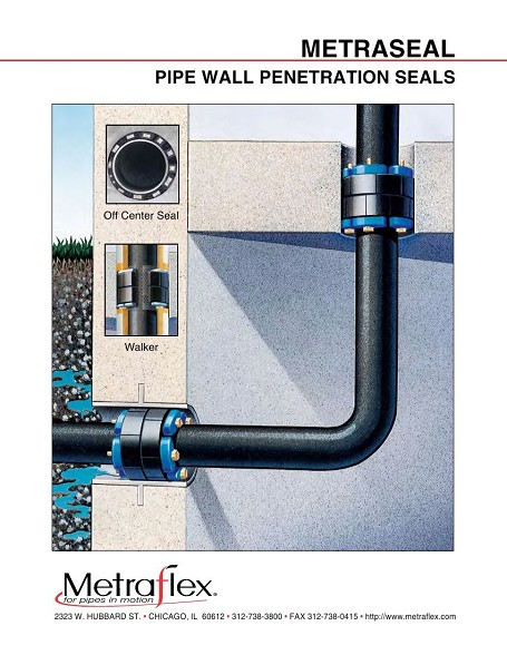 firewall penetration sealing devices
