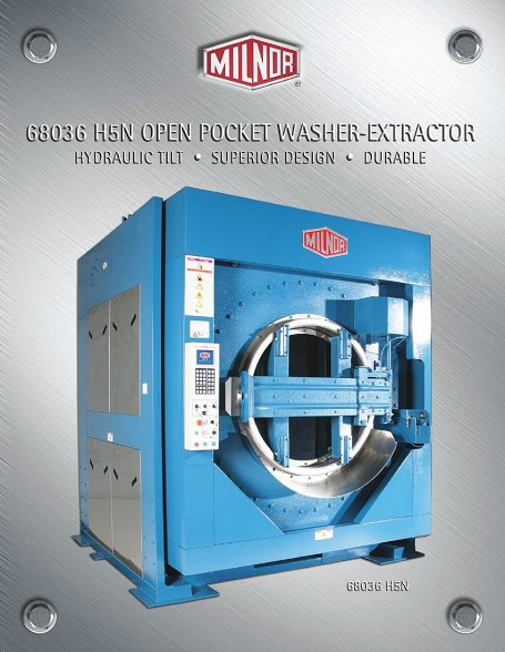 Open Pocket Washer Extractor ~ Cylinders puerto rico suppliers