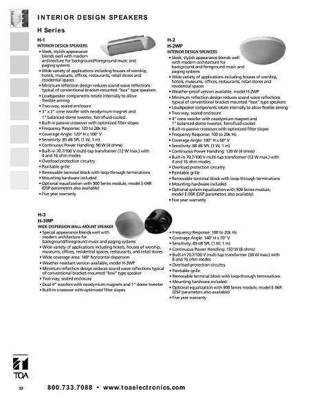 In-wall Loudspeakers - Bonnin Electronics, Inc  - Puerto