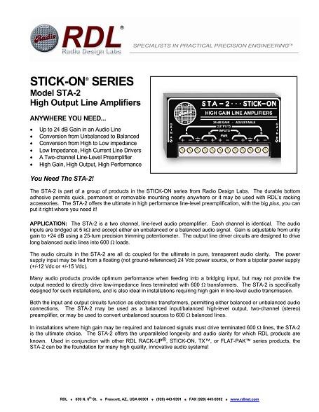 Controller Amplifier System - Bonnin Electronics, Inc